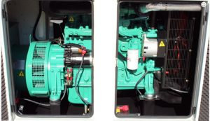 Generator supplied by Air Rotory