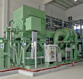 This is a picture of a SULLAIR Centrifugal Compressor_ F Series