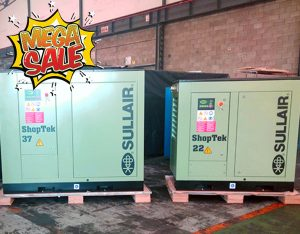 Air Rotory Sullair Shoptek 22 & 37 kW Sale