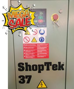 Air Rotory Sullair Shoptek 37 kW Sale