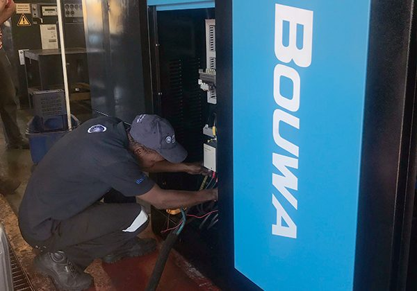 Bouwa Air Products serviced by Air Rotory Services