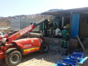 this image is of an Airend unit being serviced by Air Rotory Services