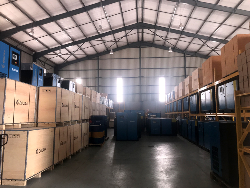 Bouwa Compressors_Air Rotory 14