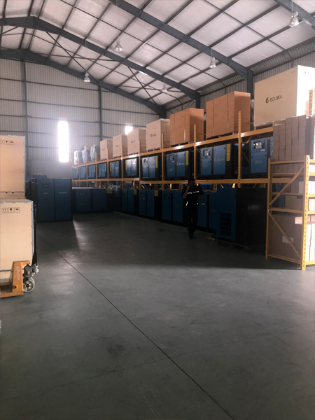 Bouwa Compressors_Air Rotory 8