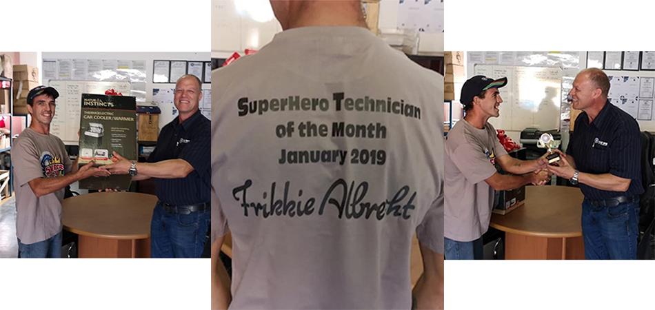 Superhero Technician Air Rotory