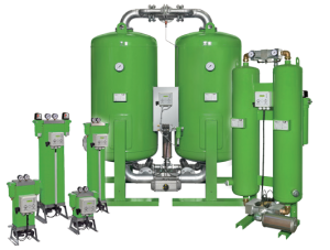 This is a picture of a Heatless Desiccant Dryer