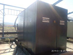 Servicing generators, dryers, compressors