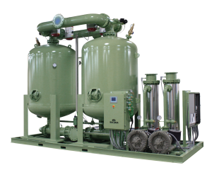 This is a picture of a SULLAIR Heated Desiccant Dryer