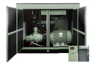 This is a picture of a SULLAIR ShopTek™ Economic and High Performing Air Compressor - 45kW - 110kW Range