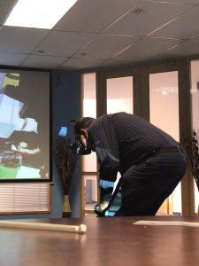 VR Sullair Product Training at Air Rotory