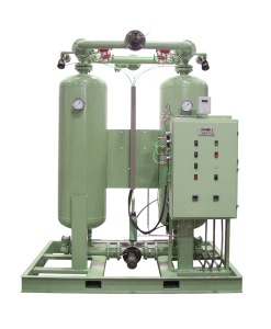 This is a picture of a SULLAIR Heated Desiccant Dryer - DEX and DBP Series