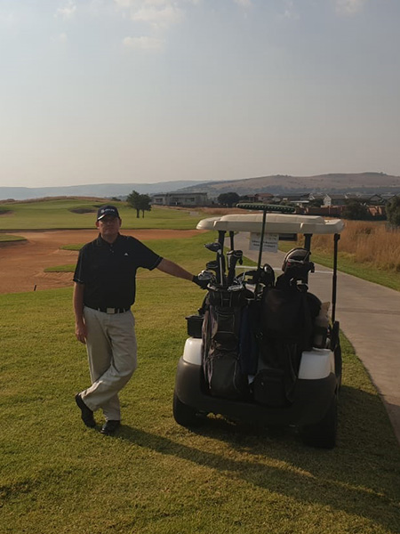 Air rotory at Indwe Risk Services Golf Day